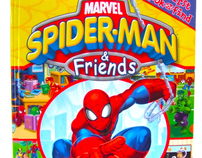 First Look and Find: Spider-Man & Friends