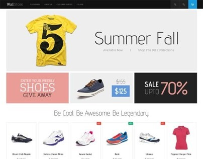 JM Wall, Magento Ultimate Responsive Theme