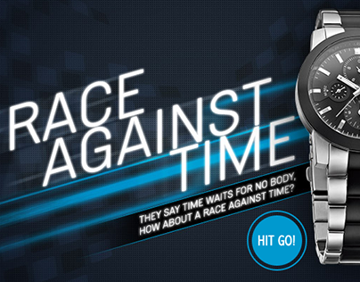 Helios Race Against Time Microsite