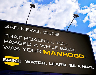 Spike TV Billboard spec ad