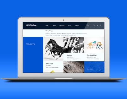 Indigo - WordPress Portfolio Fluid/Retina Theme