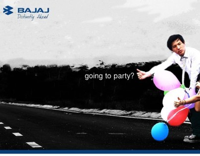 """Why Wait?"" Advertising Campaign for BAJAJ Re-60"