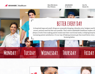 ARAMARK Healthcare Website
