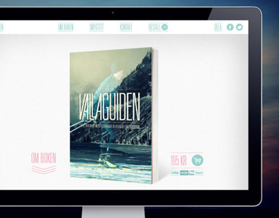 Webshop for the book Vallaguiden