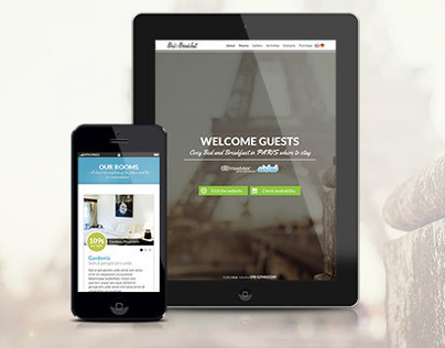Bed&Breakfast Responsive Single Page