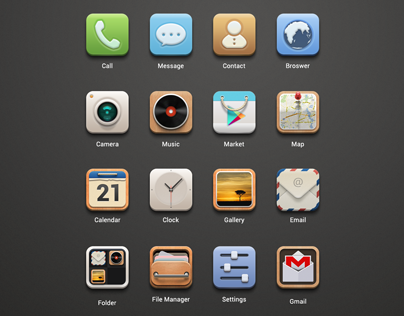 Launcher Icon-Theme