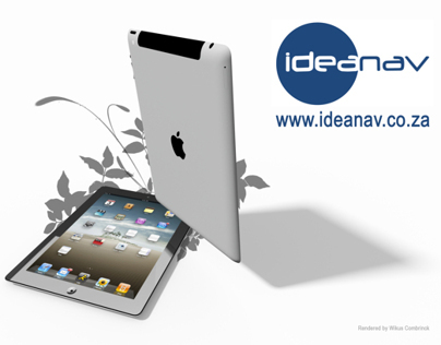 High accuracy iPad 2 A1396 CAD model and render