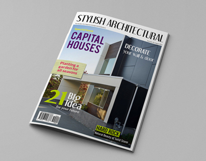 Architectural Magazine Cover