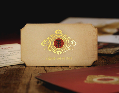 Steam Train Logo & Corporate Identity