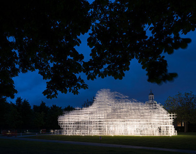 Serpentine Gallery Pavilion 2013, Night