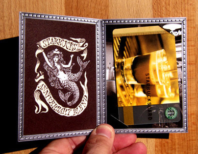 Starbucks 35th Anniversary Card Holder