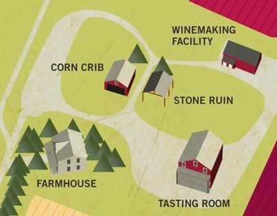 Sunset Hills Vineyard Maps