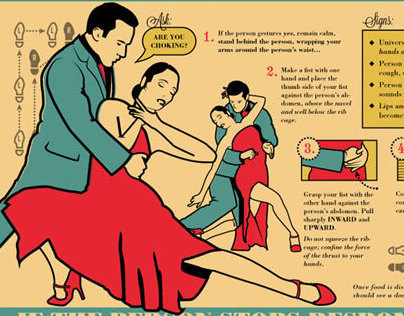 Grey Jay First Aid for Choking Victim — Tango Style