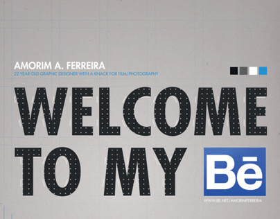 WELCOME TO MY BE