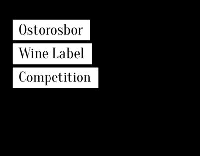Ostorosbor Wine Label