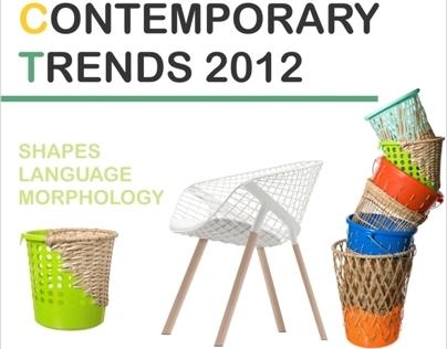 European contemporary Trends in Product Design - 2012