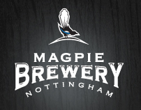 Magpie Brewery Nottingham Branding Pitch