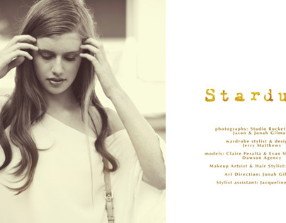Stardust; Fashion Magazine Editorial