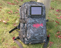 2011 Newest Designed Charger For IPhone: SOLAR BACKPACK