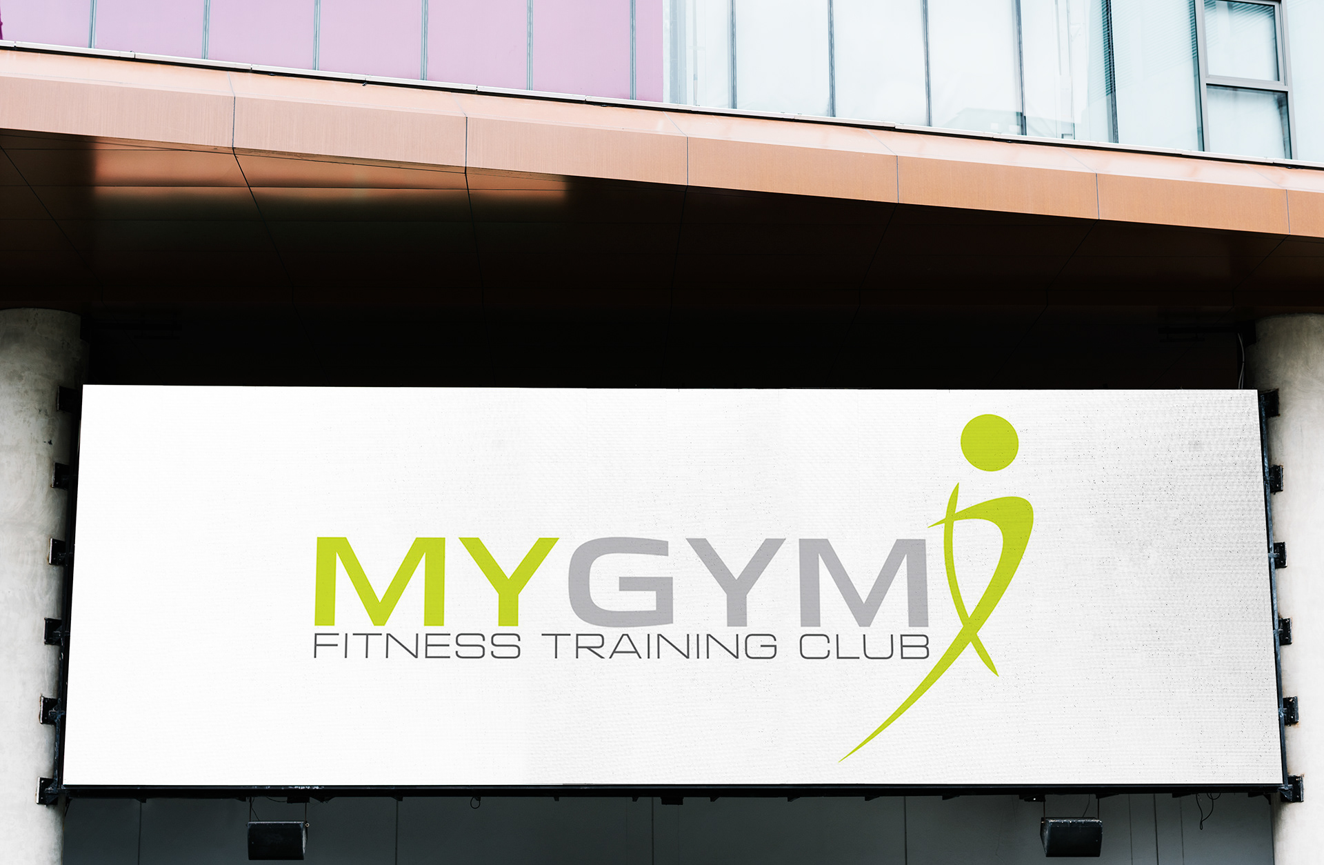 My Gym (Voula,Attikis) Redesign Corporate Identity