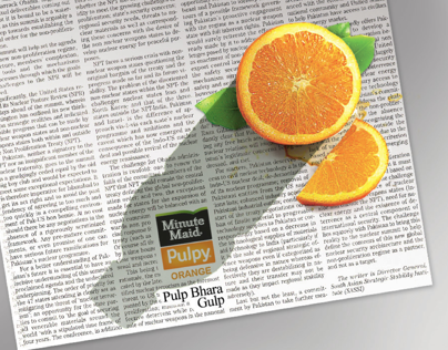 Minute Maid Pulpy Orange 2011 & 2012