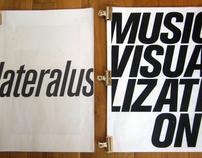 Music Visualization - Expiriments & Lateralus