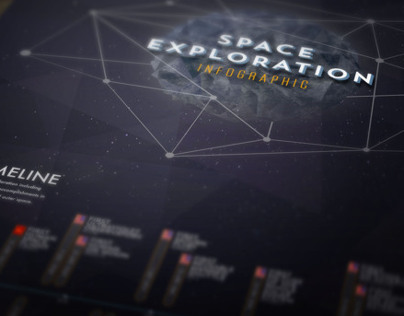 Space Exploration Infographic