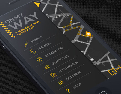 OnMyWay - Mobile application