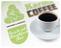 Karma Coffee Branding