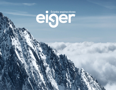 eiger - artificial climbing wall - logo