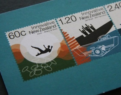 Innovative New Zealand Stamps