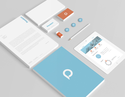 Pressium - branding and web design