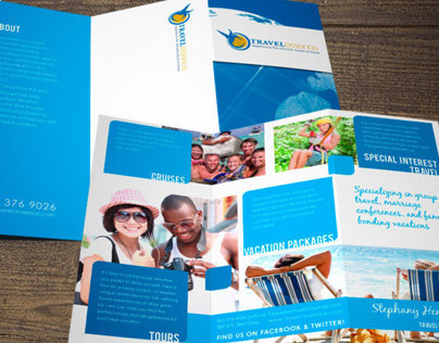 Brochure Design by Laura Booth, Freelance Designer