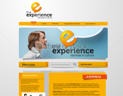 THE EXPERIENCE • LAYOUT WEB