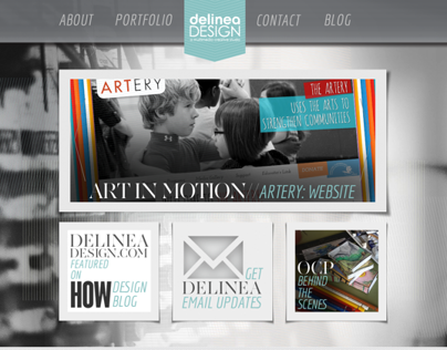 Delinea Design: Website