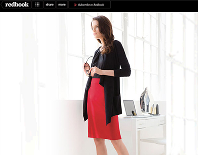 Redbook and Harpers Bazaar - Web/Banner Comps