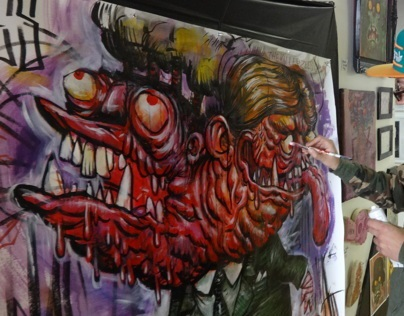 Live Painting - Digable Arts Oct 12th - 13th