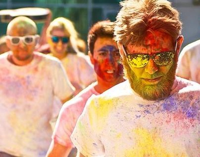 The Colour Rush - a new website for Rowcroft Hospice