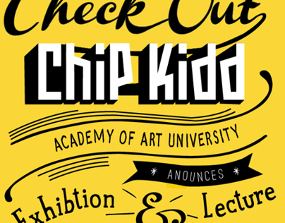 Chip Kidd Type Poster