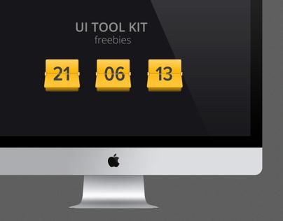 Project Management App [UI Elements] freebies