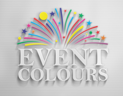 Identity design for Event Colours