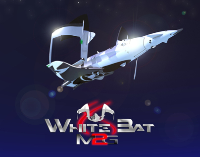 M2G White Bat              Space Business Craft