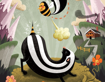 The Bee and the Skunk