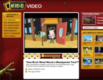 National Geographic Kids Web Site Launch