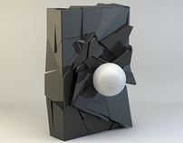 Shatter - A personal Cinema 4D Experiment