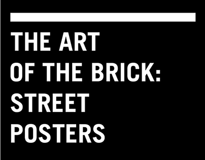 The Art of the Brick Posters