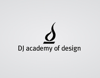 DJ academy of design, branding.
