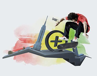 Nike Key Visuals