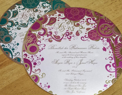 JH Wedding Invitations