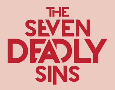 SEVEN DEADLY TSHIRTS